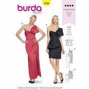 6388 Burda Pattern: Misses' Special Occasion Dress